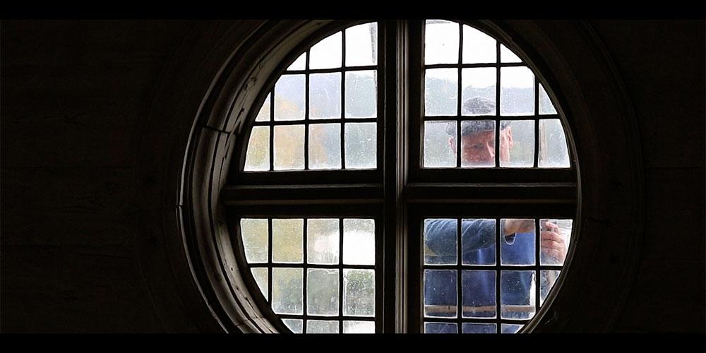 Renovering av blyinfattningar i gammalt fönster